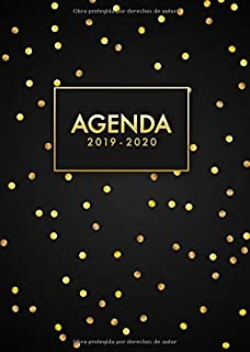 Agenda escolar 2019 2020 en español: El Calendario Semestral ...