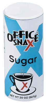 Office Snax 707-00019 Food Service Sugar Canister 20Oz ()