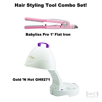 Amazon.com: Rizador de pelo herramienta Combo set-i: Beauty