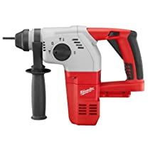 Milwaukee 0856-20 18-Volt Cordless Compact SDS Rotary Hammer Drill ,Tool Only, No Battery