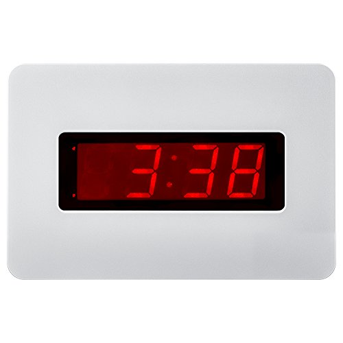 Kwanwa Electric Wall Clock Battery Operated Only With Big 1.4