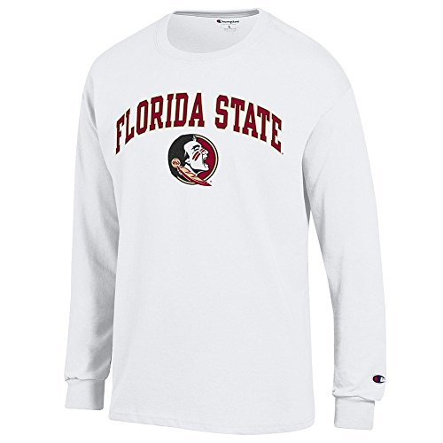 - Elite Fan Shop Florida State Seminoles Long Sleeve Tshirt Varsity White - XL