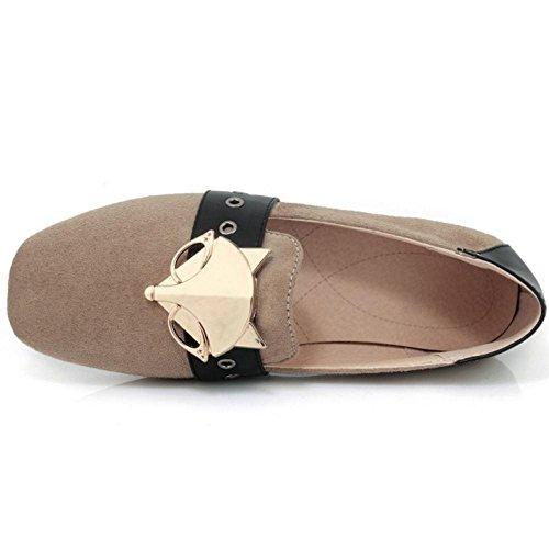 Ballet Flats Women Apricot Shoes 2 Spring KemeKiss Pumps qECZnSqd