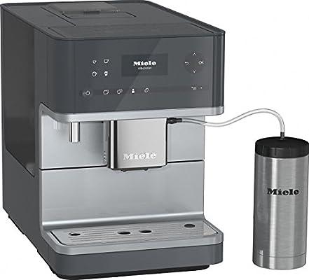 Miele CM 6350 Combi coffee maker 1.8L Gris - Cafetera (Independiente, Combi coffee maker, Gris, Tocar, Taza, Totalmente automática): Amazon.es: Hogar