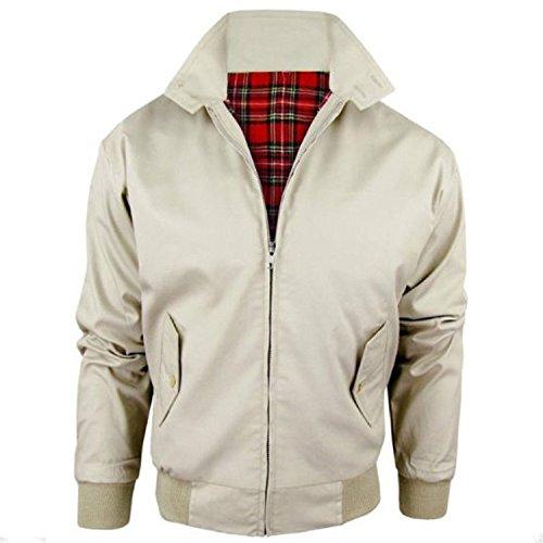New Ladies Women Girls Ma1 Stylish Vintage Zip Up Harrington Bomber Jacket Top Coat Stone
