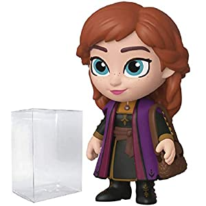 5 Star Disney: Frozen 2 – Anna Vinyl Figure (Includes Compatible Pop Box Protector Case)
