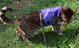 Mynwood Cat Jacket/Harness Purple Adult Cat