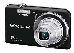 """Casio Exilim EX-ZS20 - Cámara compacta de 16.1 Mp (pantalla de 2.7"""", zoom óptico 6x) color negro"""