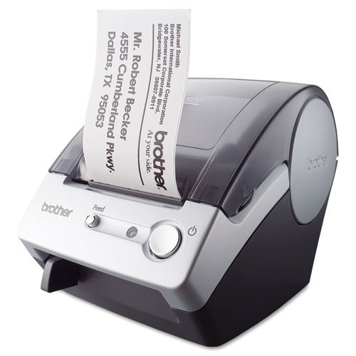 Brother - QL-500 Affordable Label Printer, 50 Labels/Min, 5-7/10w x 6d x 7-4/5h QL-500 (DMi EA by Brother