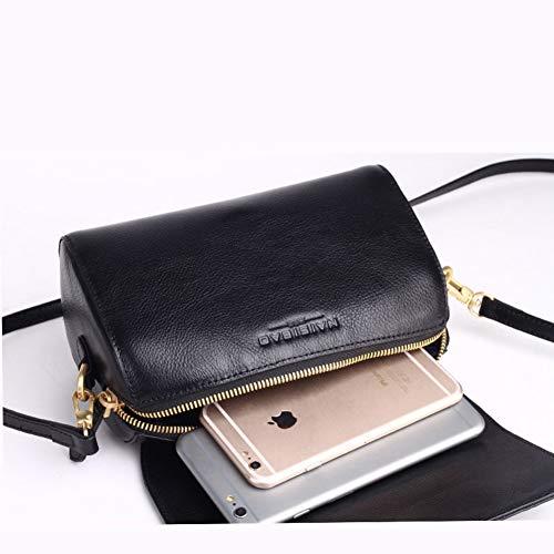 en Mini à bandoulière Main à B Sac B téléphone pour Portable Femmes 20x10x12cm à bandoulière Cuir Pochette Sacs de Sac Unique 8x4x5inch Femmes Main zrr5xXq