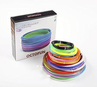 3d pen filamento recargas – Pla Biodegradable – 6 brilla en la ...