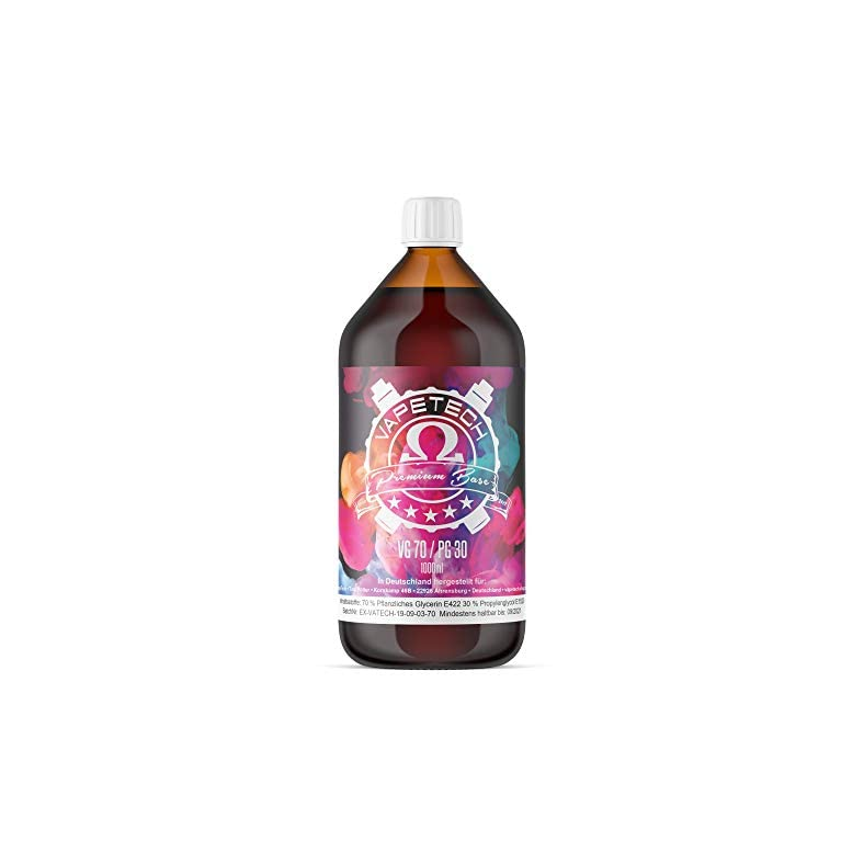 Premium Vapetech Liquid Base 1000 ml VPG 50/50 oder 70/30