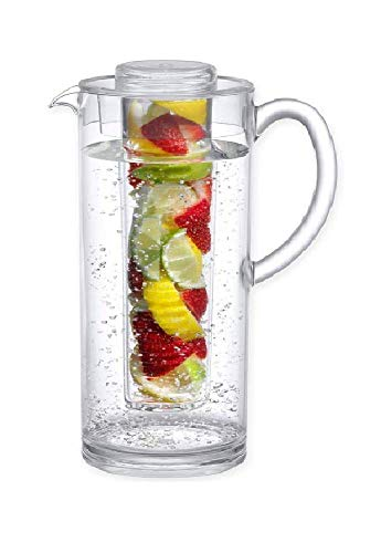 er – 93 Ounce Acrylic Water Pitcher Infuser (Acrylic, 60 ounce) ()