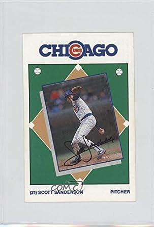 Amazoncom Scott Sanderson Baseball Card 1989 Marathon Oil