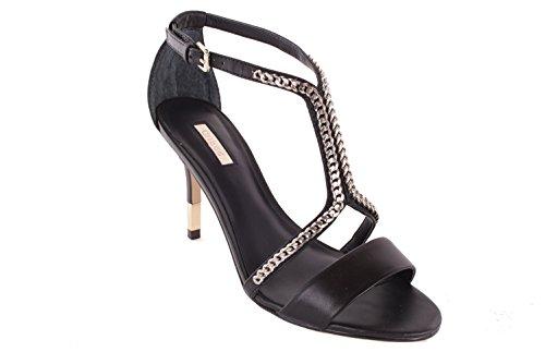 Scarpe Donna Nero col il cinturino con GUESS Tacco Nero sandali 4TW7FRHZyc