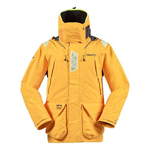 2016 Musto HPX Ocean Jacket Gold/Dark Grey SH1651 Size - - Medium