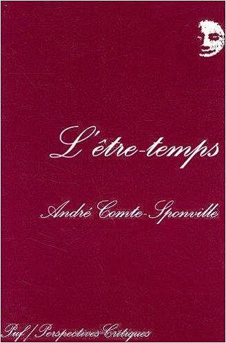 L'être-temps - André Comte-Sponville
