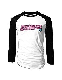 Men's Alexisonfire Watch Out Plain Raglan T Shirt Long Sleeve