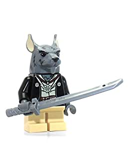 lego 2014 splinter minifig minifigure figure tmnt teenage