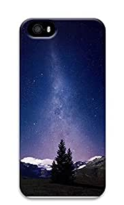Case For HTC One M7 Cover Milky Way And Mountains Tree 3D Custom Case For HTC One M7 Cover Cover