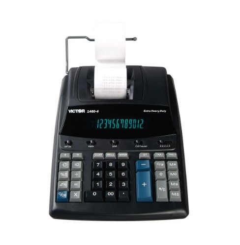Victor 1460-4 12 Digit Extra Heavy Duty Commercial Printi...