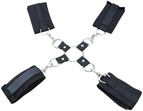 Healifty Handschellen Knöchel Beinstütze verstellbare Frauen Paare Spiel für Liebhaber Paare