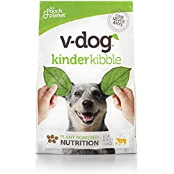 V-Dog Vegan Kibble Dry Dog Food, 20 lb