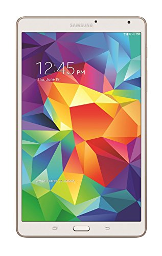 Samsung Galaxy Tab S 8.4-Inch Tablet (16 GB, Dazzling White) (Renewed)