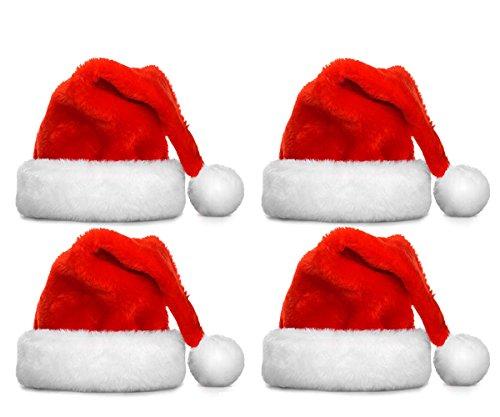 FATHER.SON Christmas hat and Santa hats (4pcs)