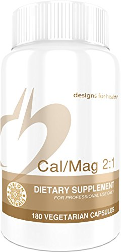 Cheap Designs for Health – Cal/Mag 2:1-150mg Chelated Magnesium Malate + 300mg Chelated Calcium Malate, 180 Capsules