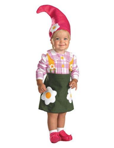 Flower Garden Gnome Costume, Toddler 2T