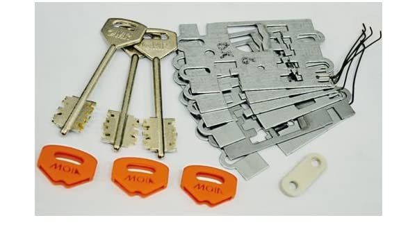 GARGANTAS DE RECAMBIO cerraduras para doble paletón 180 Derecho MOIA 614 ARMOUR: Amazon.es: Bricolaje y herramientas