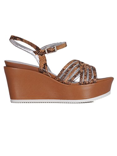 Cervone Sandali Donna 3732BROWN Pelle Marrone