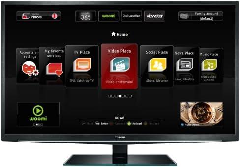Toshiba 46 TL 868 G - Televisión LED de 46 pulgadas Full HD (100 ...