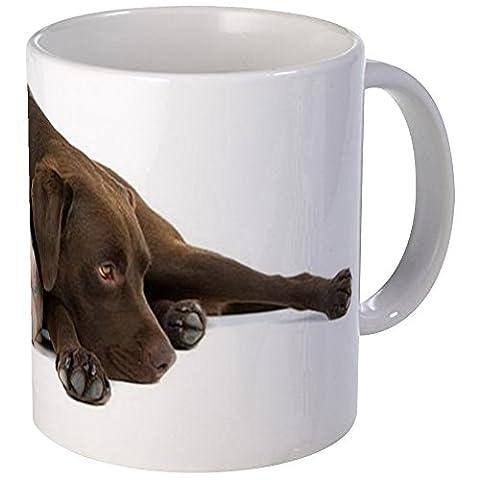 CafePress - Chocolate Labrador Mug - Unique Coffee Mug, Coffee Cup - Labrador Coffee