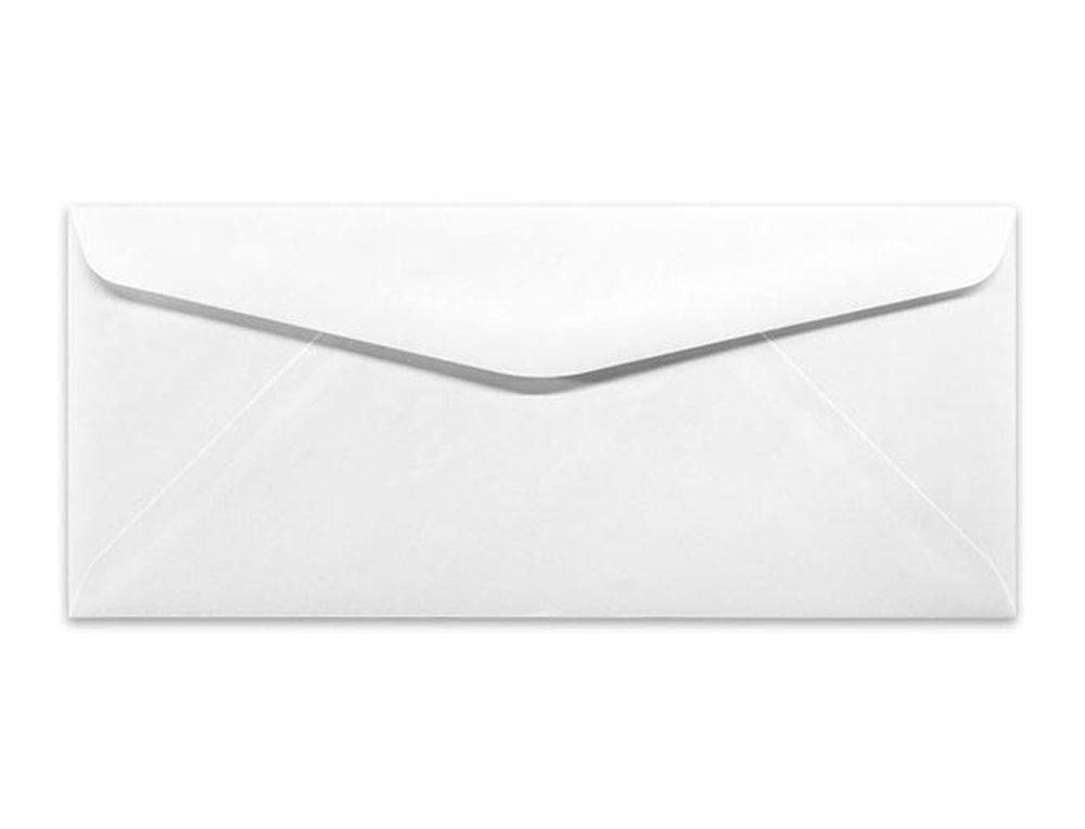 #10 Machinable White Business Envelopes for Automatic Inserters 500
