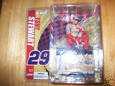 Tony Stewart #29 ESGR Busch Series Action Figure McFarlane NASCAR Series