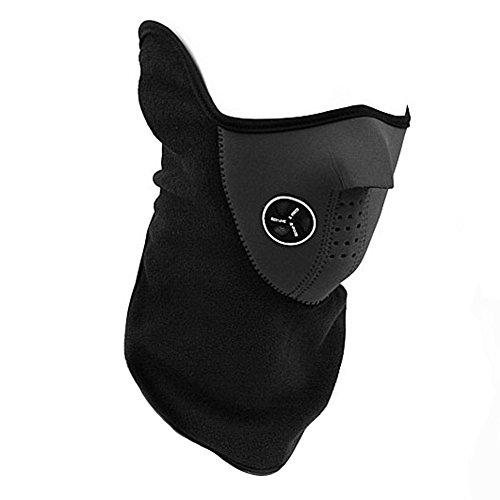 Emotionlin(TM) Unisex Cotton Fleece Neck and Ear Warmer Face Mask (Horse Mask Price)