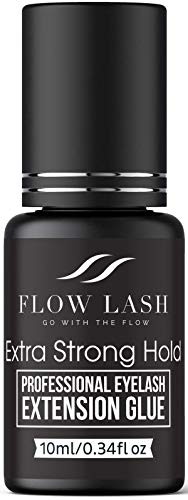 Eyelash Extension Glue Extra Strong Hold 10ml   2s Dry Time + Lasts Up to 8 Wks   Formulated for Professionals