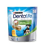 Purina DentaLife Made in USA Facilities Toy Breed Dog Dental Chews; Daily Mini - 58 ct. Pouch