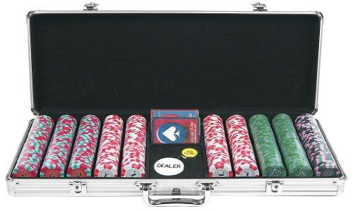 (Trademark Poker NEXGEN PRO 500 Chip Classic Style Poker Set in Aluminum Case)