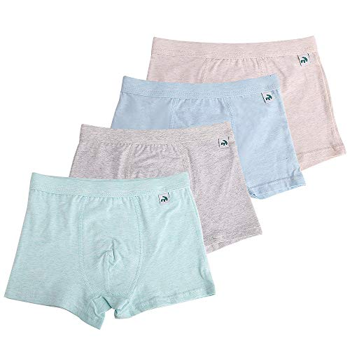 Cotton Lycra Boy Brief - KiMiSUGOi Boys Boxer Briefs of 4 Comfortable Boys Cotton Underwear