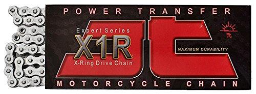JT Sprockets 116 Link JTC520X1R2NN116DL Nickel 116-Link Heavy Duty X-Ring Drive Chain (520X1R2) ()