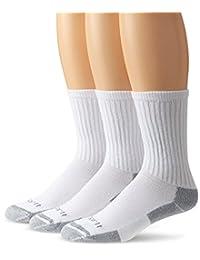 Carhartt Men's All-Season Cotton Crew Work Sock 3-Pack