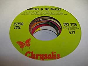 Jethro Tull 45 Rpm Minstrel In The Gallery Summer Day