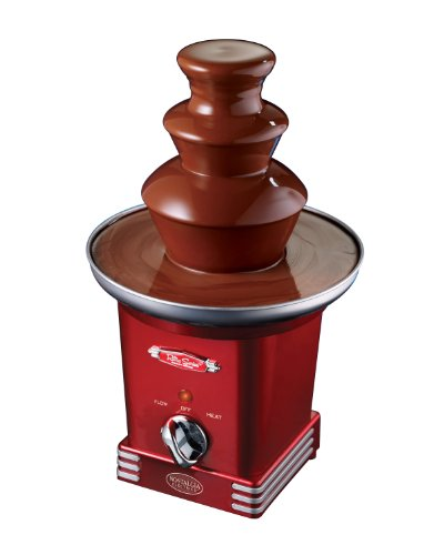 Nostalgia RFF600RETRORED 3 Tier Chocolate Fountain product image