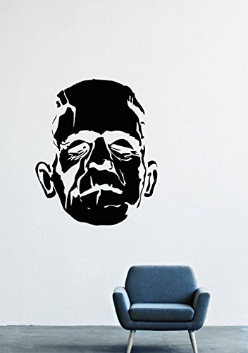 Frankenstein Head Wall Decals Decor Vinyl Stickers for sale  Delivered anywhere in Canada