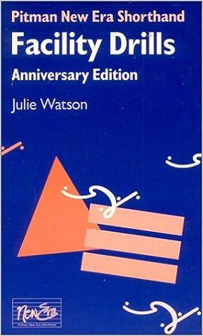 Book Pitman New Era Shorthand Facility Drills Anniversary Edition