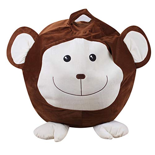 KHFU and Practical Baby Stuffed Animal Plush Toy Storage Bean Bag Soft Pouch Animal Sleeve Doll from KHFU