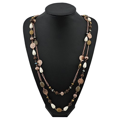 Plated Crystal Acrylic Colorful Necklace product image